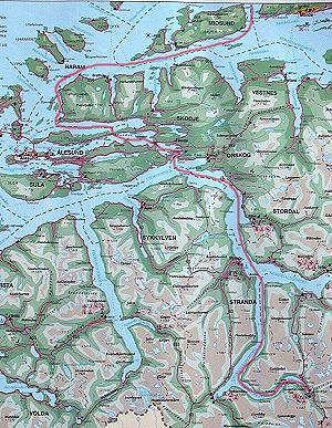 kart over fræna Fræna padleklubb : Geiranger kart over fræna